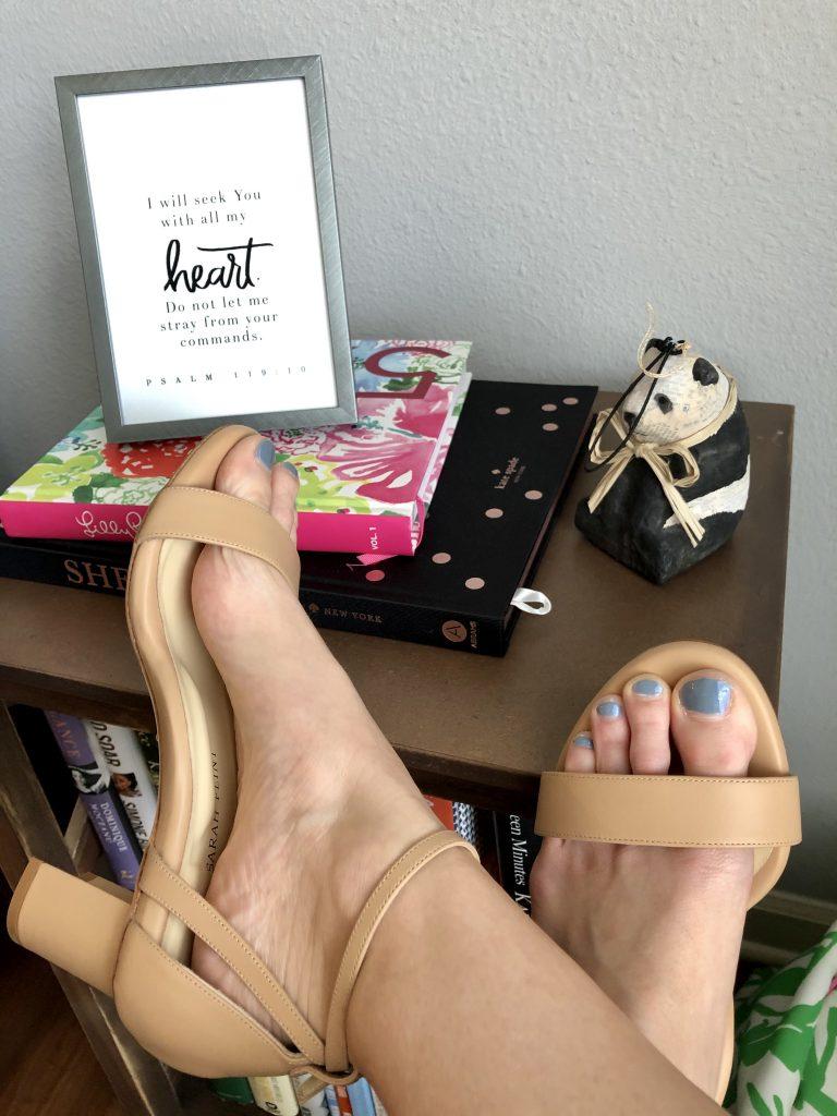 Sarah Flint Perfect Block Sandal 60