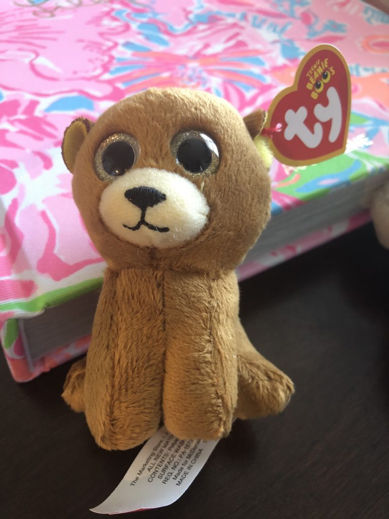 Ty Beanie Boo McDonald's Happy Meal Toy Henry the Bear