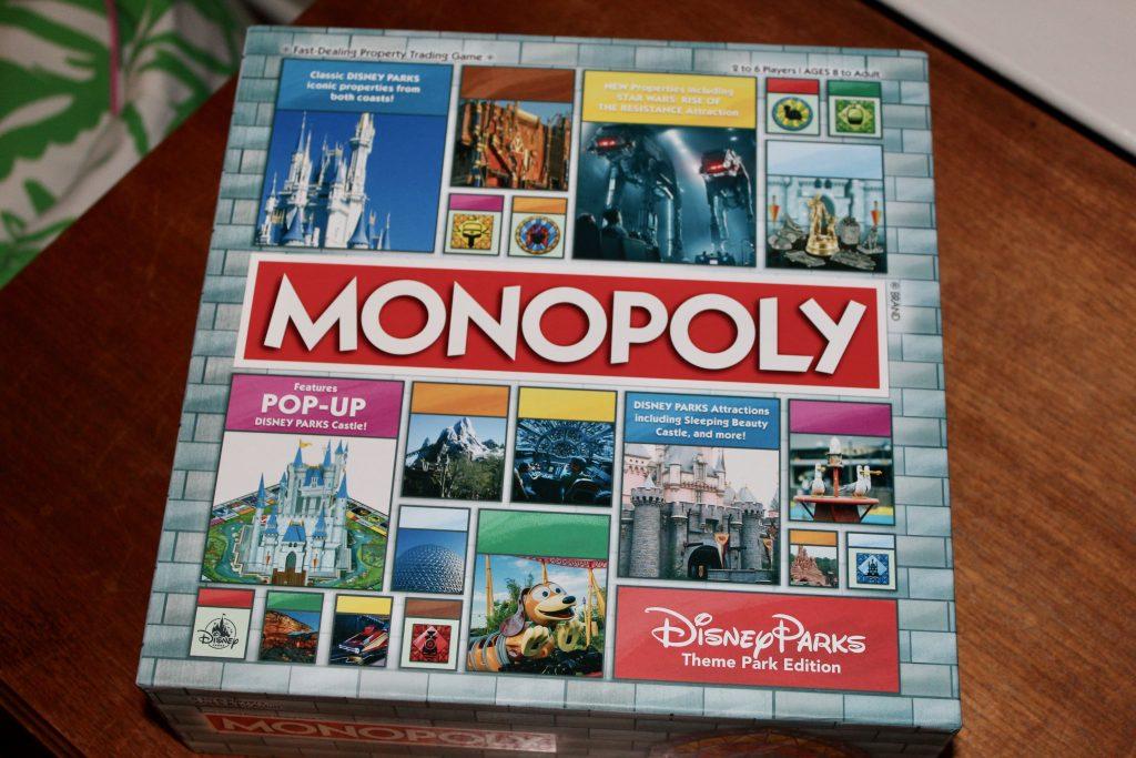 Disney Parks Monopoly Game